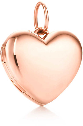 Tiffany & Co. Heart locket in 18k rose gold, small