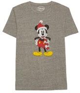 Disney® Men's Mickey Mouse Santa T-Shirt Charcoal