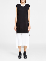 DKNY Pure Tunic With Stepped Hem