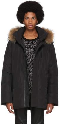 Mackage Black Down Classic Raf Jacket