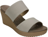 Crocs Women's Leigh II 2-strap Wedge Sandal