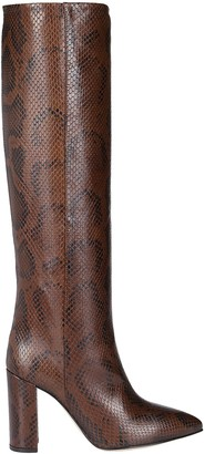 Paris Texas Brown Leather Boots