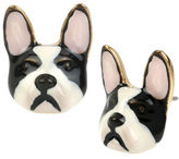 Betsey Johnson Bulldog Stud Earrings