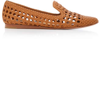 Veronica Beard Griffin Woven Loafers Size: 39