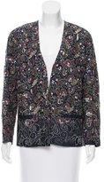 Dries Van Noten Embellished Open Front Jacket