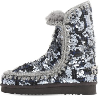 Mou 40mm Eskimo 24 Faux Shearling Boots
