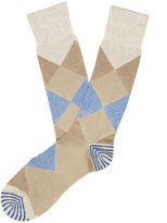 Perry Ellis Marled Diamond Dress Sock