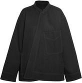 Lemaire Oversized Denim Jacket - Black