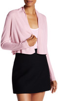 Rebecca Taylor Camille Cashmere Cropped Cardigan