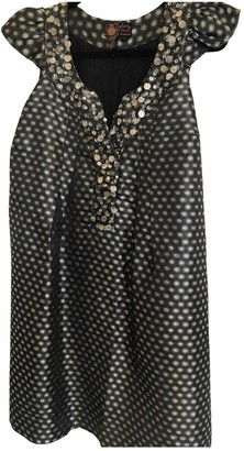 Tracy Reese Metallic Glitter Dress for Women