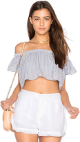 The Jetset Diaries Haven Crop Top in Blue. - size L (also in M)