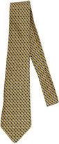 One Kings Lane Vintage Hermès Yellow & Blue Silk Tie