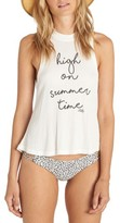 Billabong Women's Print Swing Rib Tank