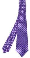Kiton Men's Purple Silk Tie.