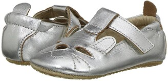 Old Soles Cutesy Shoe (Infant/Toddler) (Silver) Girl's Shoes