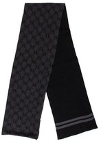 Gucci Wool GG Two-Way Scarf