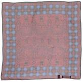 Halston Sheer Silk Scarf
