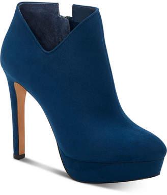 Jessica Simpson Raxen Platform Booties Women Shoes