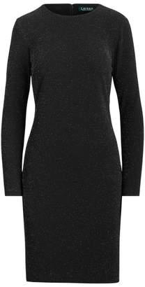 Ralph Lauren Metallic-Knit Dress