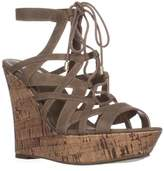 GUESS G By Dritta2 Wedge Sandals, Medium Natural.