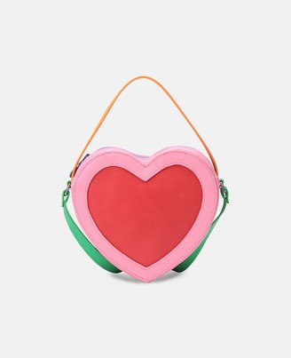 Stella McCartney heart bag with chain strap