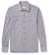 Boglioli Checked Cotton-Poplin Shirt