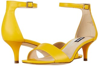 Nine West Leisa Heel Sandal (Red) Women's Shoes