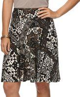 Chaps Women's A-Line Skirt
