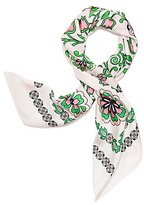 Tory Burch Garden Party Silk Square Scarf