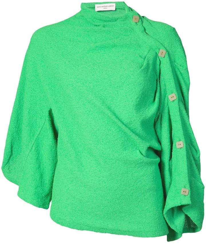 Leroy Veronique high neck blouse