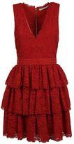 Alice + Olivia Ruffled Dress