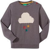 Little Green Radicals Little Boys' Starry Cloud Jumper (Toddler/Kid) - Grey