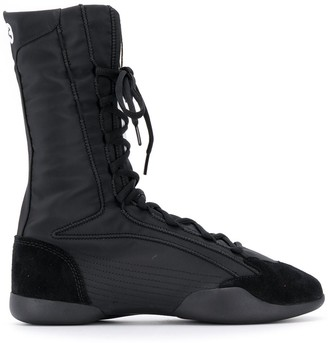 Y-3 taekwondo high boots