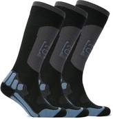 Burton Burton - Three-pack Ak Endurance Ribbed-knit Ski Socks