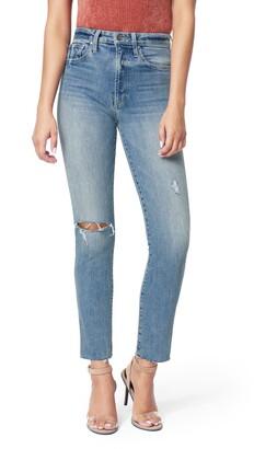 Joe's Jeans The Luna Ripped High Waist Ankle Cigarette Jeans