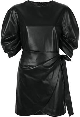 GOEN.J wrap mini dress
