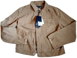 Armani Jeans Brown Cotton Jackets