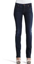 7 For All Mankind Kimmie Merci Blue Straight-Leg Jeans