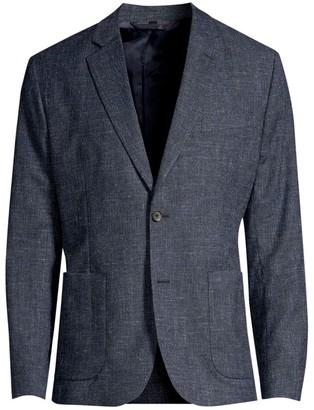 J. Lindeberg Hopper Stretch Wool Suit Jacket