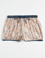 Full Tilt Twin Print Floral Girls Shorts