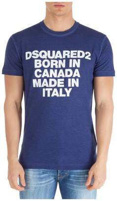 DSQUARED2 Born In Canada Made In Italy T-shirt