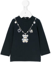 MonnaLisa teddy necklace blouse