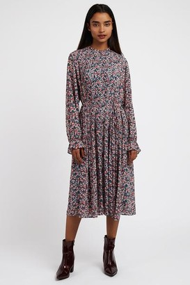 Louche Cherry Blossom Midi Dress - 14