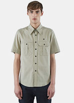Yang Li Men's Boy Scout Shirt In Khaki
