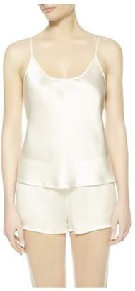 La Perla Silk White Silk Camisole