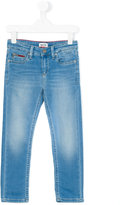 Tommy Hilfiger Junior - stonewashed jeans - kids - Cotton/Polyester/Spandex/Elastane - 4 yrs