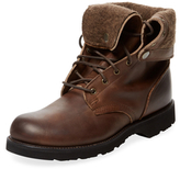Vintage Shoe Company Dagan Leather Lace-Up Boot