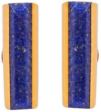 Jewel Tree London Urban Mini Studs Lapis Lazuli