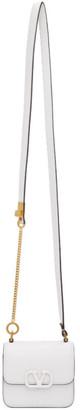 Valentino White Garavani Mini VSling Shoulder Bag