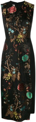 Antonio Marras floral layered panel dress